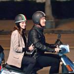 上海!電動バイクの二人乗りは罰金30元